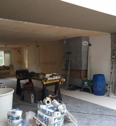 Voor na stucwerk woning 4allstuc stucadoor voor al jouw stucwerk4allstuc stucadoor voor - Voor na gerenoveerd huis ...